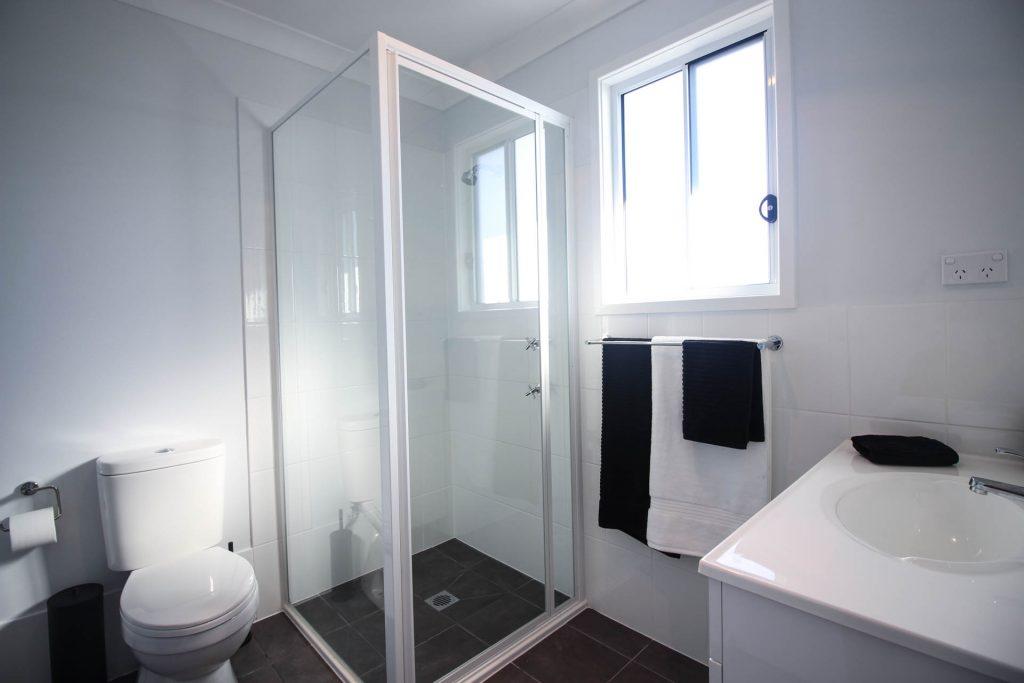 Coastal Granny Flats Central Coast bathroom