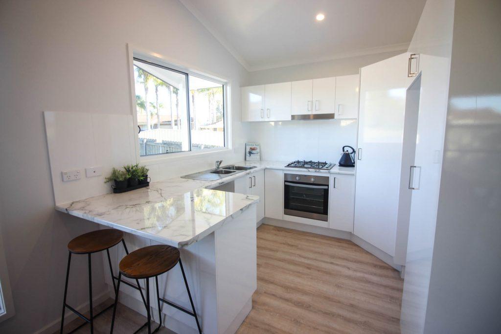 Coastal Granny Flats Central Coast kitchen