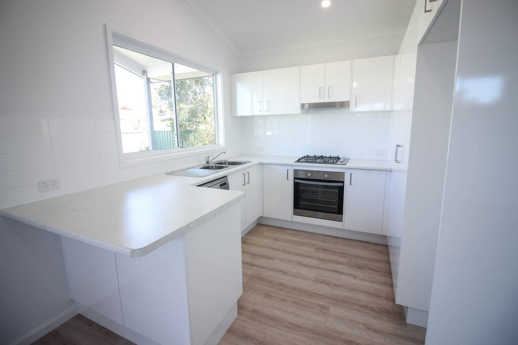 Coastal Granny Flats Central Coast kitchen